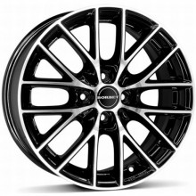 Janta aliaj Borbet BS4 Black Polished 6.5x15 4/100 ET 40