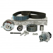 KIT Distributie FORD FOCUS II 1.6 TDCI (66kW) Cod motor GPDA, GPDC, HHDA, HHDB (Curea, Role, Pompa Apa)
