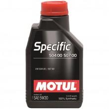 Ulei motor MOTUL SPECIFIC 504.00 - 507.00 5W30 1L