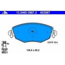 Set placute frana - ATE - 13.0460-3987.2 / 603987