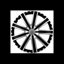 SET CAPACE ROTI TORO SILVER&BLACK 16