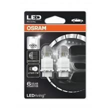SET BECURI Auto LEDriving PREMIUM OSRAM P27/7W, 12V, W2.5x16q, ALB, 2 bucati