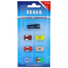 Set sigurante auto TESLA - lama mini - F116 -12 bucati