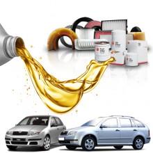 Pachet Revizie SKODA FABIA 1.4 (44kW) Cod motor AZE, AZF - Filtre + Ulei Motor