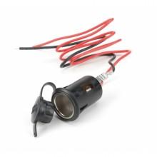 Soclu bricheta electrica 12V negru  (Bottari)