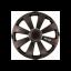 SET CAPACE ROTI RS-T DARK 14